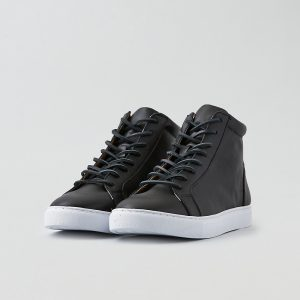 Leather Hi-top Sneaker Premium Laces